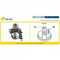 Sando 6015169.1 Motorino d'avviamento RENAULT MASTER II Furgonato (FD) 2.5 dCi 120 (corrispondente a: RENAULT 8200106788 - 8200130624 - 8200225336)
