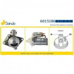 Sando 6015186.1 Motorino d'avviamento RENAULT LAGUNA Coupé (DT0/1) 3.0 dCi (DT03) 235hp 173kw 2998cc 09/2008 > SCENIC - GRAND SCENIC - TRAFIC - ESPACE 2.0 DCI -  NISSAN QASHQAI/+2 - X-TRAIL-PRIMASTAR