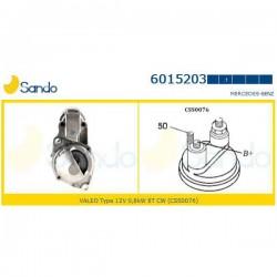 Sando 6015203.1 Motorino d'avviamento MERCEDES VANEO (414) 1.6 (414.700) (corrispondente a: MERCEDES A1661510001 - A16615100180)