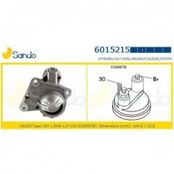 Sando 6015215 Motorino d'avviamento CITROËN BERLINGO-C1 1.4HDI-C2- C3 1.4 HDI-C4 Picasso I (UD_) 1.6 HDi 109hp 80kw 1560cc 02/2007 > - C5-DS3-PEUGEOT 107-206-207-307-308-1007-3008-BIPPER-RANCH-FIAT SCUDO 1.6 Multijet-MINI COOPER D-TOYOTA AYGO 1.4 HDI