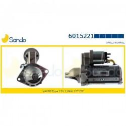 Sando 6015221 Motorino d'avviamento VAUXHALL ASTRA Mk V (H) - ( J )  1.3 CDTI 90hp 66kw 1248cc 01/2004 > 05/2009 CORSA (D) 1.3 CDTI (corrispondente a: FIAT 55564491 - OPEL 60105011 - 6202105 - 93191079)
