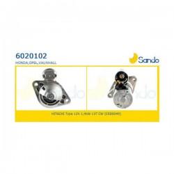 Sando 6020102 Motorino d'avviamento VAUXHALL ASTRA Mk V (H) Sport Hatch 1.7 CDTi 100hp 74kw 1686cc 02/2005 > 11/2010