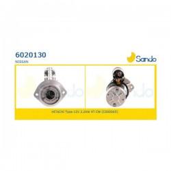 Sando 6020130 Motorino d'avviamento NISSAN TRADE Autobus 3.0 TDiC 106hp 78kw 2953cc 06/1996 > 10/2001