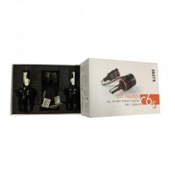 KIT LAMPADA H4 a led per trasformazione da lampadine normali a LED senza bisogno di centralina. Le lampadine sono dotate di ventolina per il raffreddamento. 6500 kelvin luce BIANCA