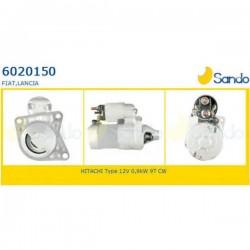 Sando 6020150.1 Motorino d' avviamento FIAT SEICENTO 1.1 -  PUNTO Cabriolet (176C) 85 16V 1.2 86hp 63kw 1242cc 04/1997 > 06/2000 (corrispondente a: FIAT 55195030, 16740242, 51833880, 55196400, 55201304 - HITACHI:  S114903 - S114903A - S114949)
