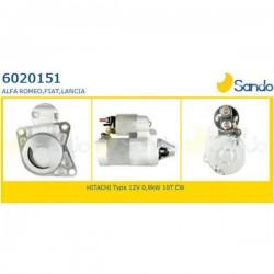 Sando 6020151.1 Motorino d 'avviamento FIAT 500 1.2  10/2007 >  - STILO 1.4 16V - GRANDE PUNTO - PANDA 03->>  IDEA - ALFA ROMEO MITO 1.4 MultiAir, Tjet  -  LANCIA DELTA 1.4 - MUSA 1.4 - YPSILON 1.4 ->2011