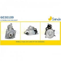 Sando 6030109.1 Motorino d'avviamento CITROËN JUMPER Furgonato (244) 2.8 HDi  04/2002 > FIAT DUCATO2.8tdi - 2.5 diesel - PEUGEOT BOXER (corrispondente a: FIAT 1319555080 - 1331329080 - 46231646 - 71721242 - 71782324  - IVECO 131955508)