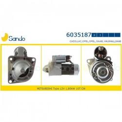 Sando 6035187.1 Motorino d'avviamento OPEL ASTRA H-J 1.9 CDTI 16V / ISIGNA 2.0 cdti/biturbo / ZAFIRA B / VECTRA C  /  SAAB 9-3 / 9-5 1.9TiD