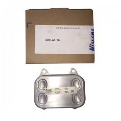 Scambiatore Acqua/Olio alluminio per Audi A1-A3,Volkswagen Amarok-New Beetle, Seat Alhambra-Altea-Ibiza V 1.2 Tdi-1.6 TDI-2.0 TDI (corrispondente a: VOLKSWAGEN 03L117021C)