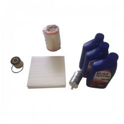 Kit tagliando SMART mod 450 alimentazione benzina + 3 kg olio MOBIL SPECIAL 5W30