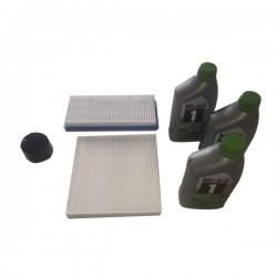 Kit tagliando SMART MHD mod 451 alimentazione benzina + 3 kg olio MOBIL 1 5W30