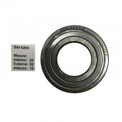 SKF Cuscinetto popolare skf 6205 doppia schermatura in ferro misure: 25-52-15