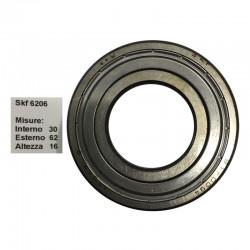 SKF Cuscinetto popolare skf 6206 doppia schermatura in ferro misure: 30-62-16
