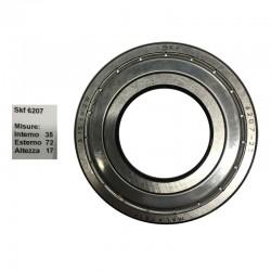 SKF Cuscinetto popolare skf 6207 doppia schermatura in ferro misure: 35-72-17