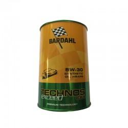 BARDAHL OLIO BARDAHL  TECHNOS EXCEED C60  5W30 (ACEA C3 / API SN-CF MB 229.51 / BMW Longlife 04 / GM dexos 2 SAE 5W-30)