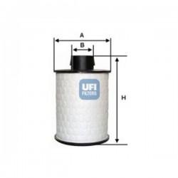 Ufi Filter - Filtro carburante montato su CHEVROLET-CITROEN-FIAT-OPEL-PEUGEOT